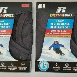 Russell Therma Force Base Layer Thermal Set